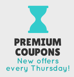 PREMIUM COUPONS New offers every Thursday!